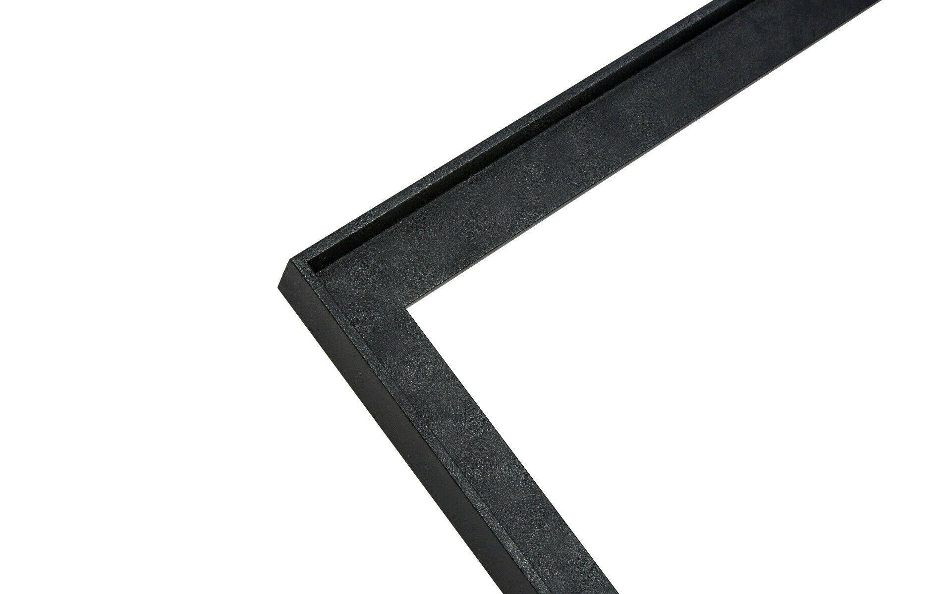 Baklijst - Canvaslijst- Industrieel - Antraciet Staal