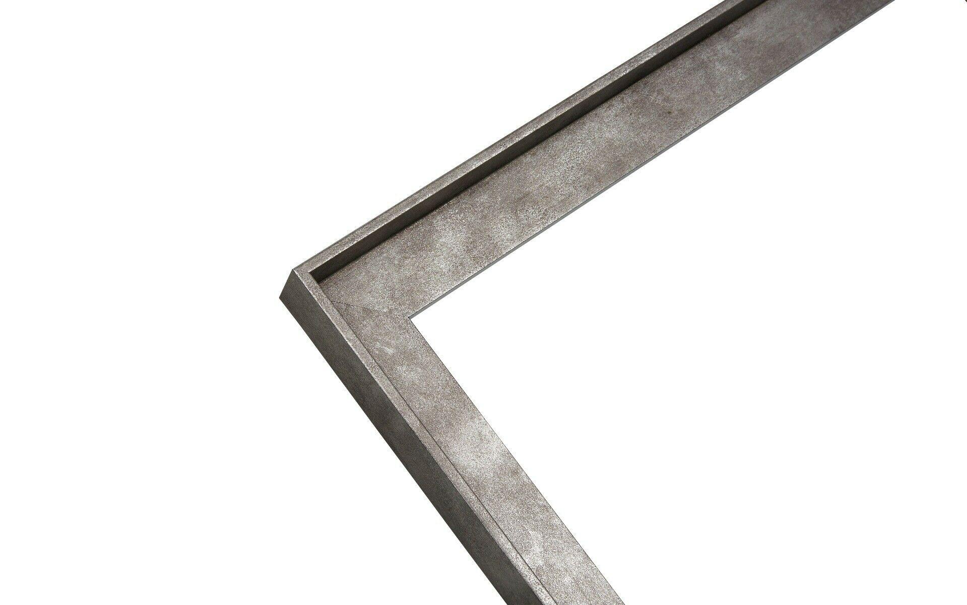 Baklijst - Canvaslijst - Industrieel - Grijs IJzer