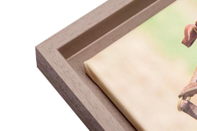 houten baklijsten op deze afbeelding. puur hout vervaardigde baklijst