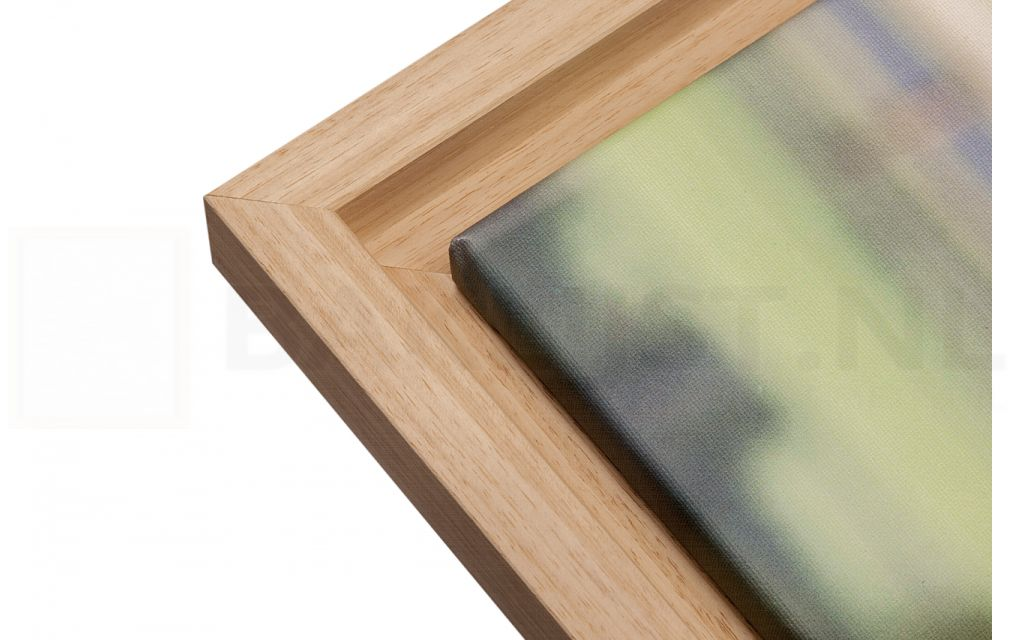 Een houten schilderijlijst voor uw canvasdoek